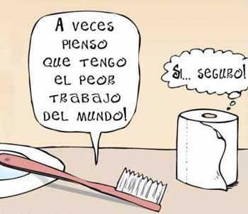 cepillo de dientes y papel wc