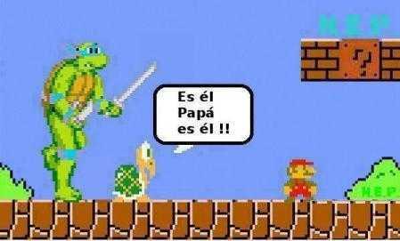 Mario bros y tortuga ninja