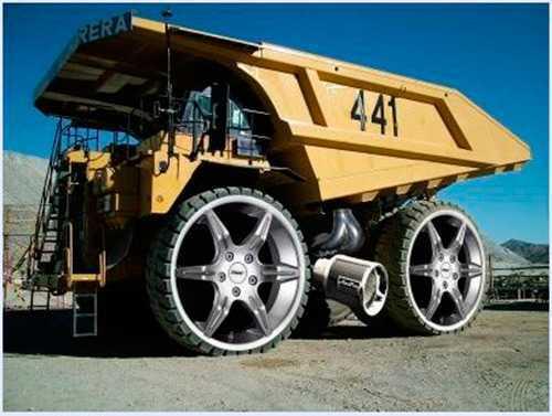 camion de obra tuneado