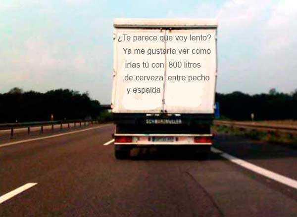 camion con leyenda graciosa