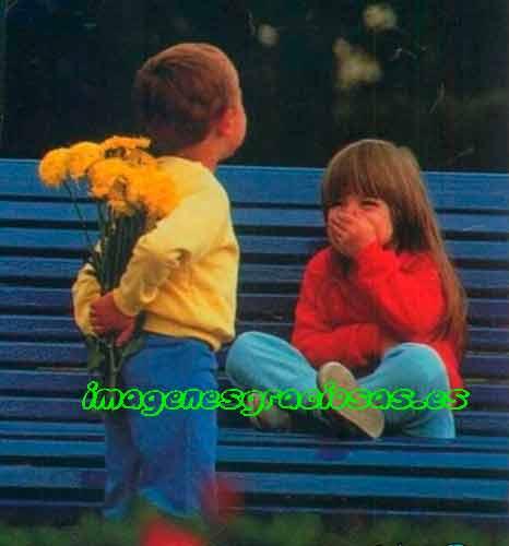 foto bonita y graciosa con niños