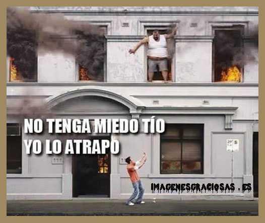 Valiente en incendio