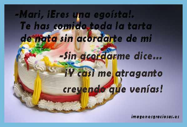 Mari y la tarta